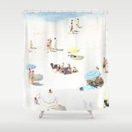 beach XXI Shower Curtain