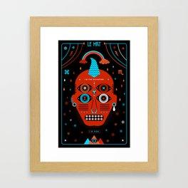 TAROT. - Le Mat Framed Art Print