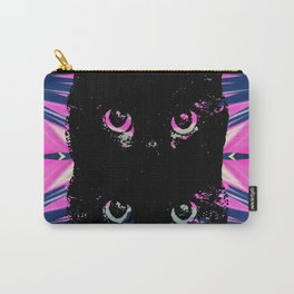 Black Cat Rising Carry-All Pouch