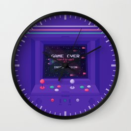 INSERT COIN Wall Clock