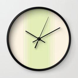 Green Tea & Crème Vertical Gradient Wall Clock