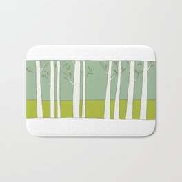 The Trees Bath Mat