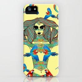 Guacamaya Libre iPhone Case