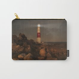 Evening Coast With Lighthouse Carry-All Pouch