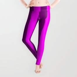 stripes purple pattern Leggings