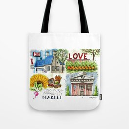 Lynchburg, Virginia - 4 Scenes Around Town Tote Bag
