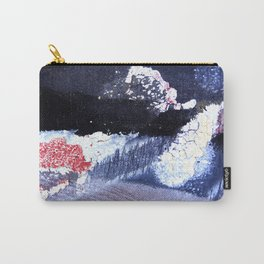 Abstract Winternight Carry-All Pouch