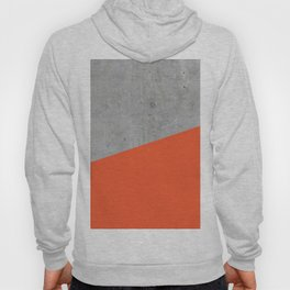 Concrete and Flame Color Hoody