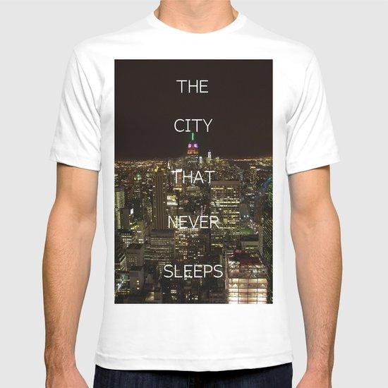 New York, New York. T-shirt