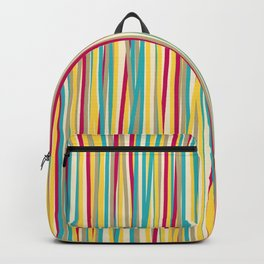 Colored Lines #6 Backpack