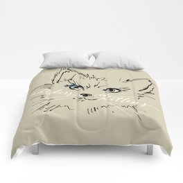 whiskers on kittens Comforters