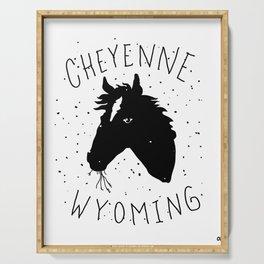 CHEYENNE WYOMING Serving Tray