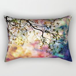 the Tree of Many Colors Rectangular Pillow