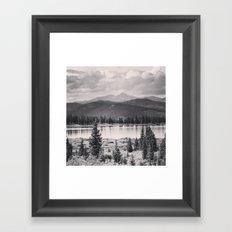 Echo Lake, Colorado Framed Art Print