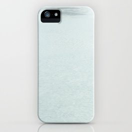 Lost Swan iPhone Case