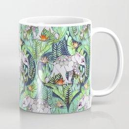 Little Elephant on a Jungle Adventure - faded vintage version Coffee Mug