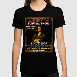 Alien Funny Poster Art T-shirt