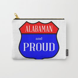 Alabaman And Proud Carry-All Pouch