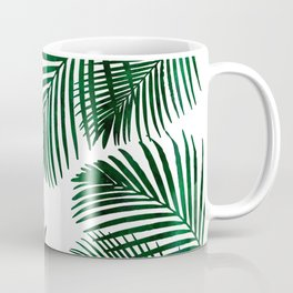 Tropical Palm Leaf Coffee Mug