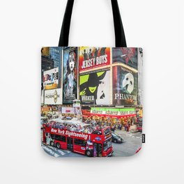 Times Square II Special Edition II Tote Bag