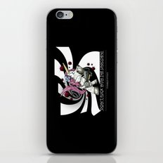 Don't f**k with the unicorn iPhone & iPod Skin