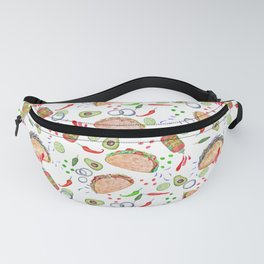 "Tacos are ""Hot Stuff"" and we love them! Fanny Pack"