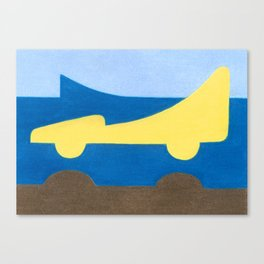 The Nose Canvas Print