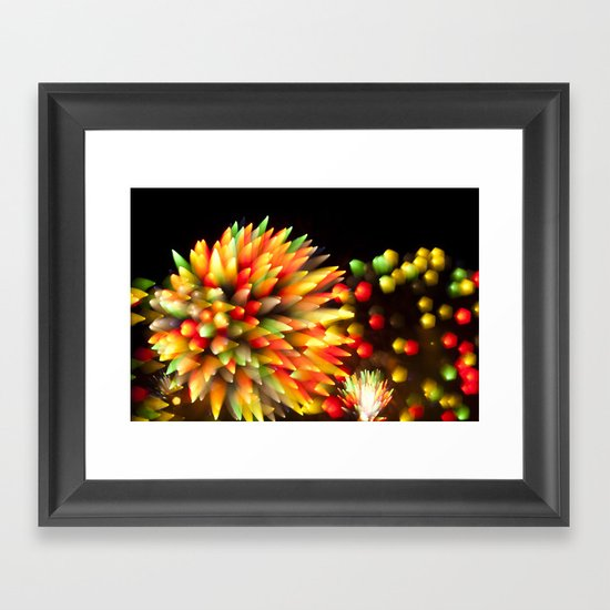 Efflorescence 27 Framed Art Print