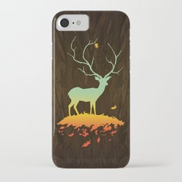 Fawn and Flora iPhone Case