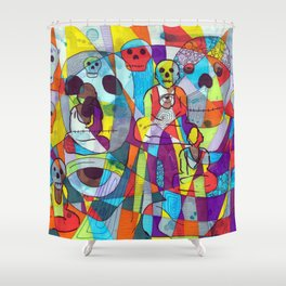 Moving beyond doubt Shower Curtain
