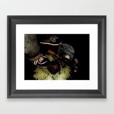 The Weapons Of War Framed Art Print