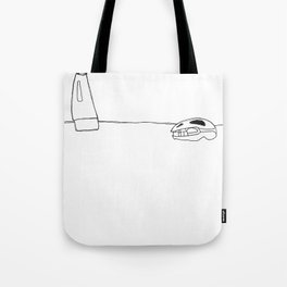 The Executioner & The Skull Tote Bag
