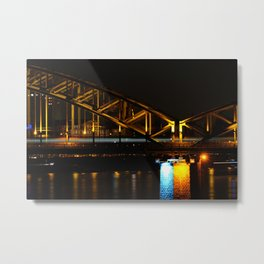 Goldbridge Metal Print