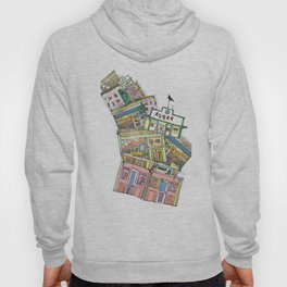 old houses Hoody