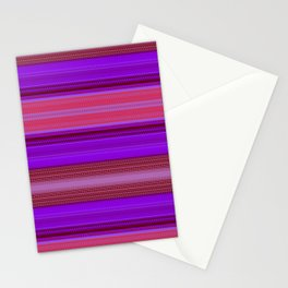 Red & Purple XII Stationery Cards
