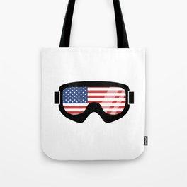USA Goggles | Goggle Designs | DopeyArt Tote Bag