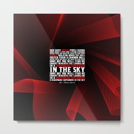 """How many special people... """"Oasis - Champagne Supernova"""" Metal Print"""