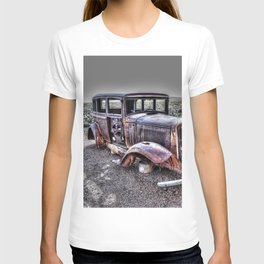 Rusting in the desert T-shirt