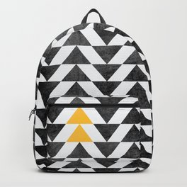 Triangle - Yellow II Backpack