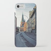 oslo iPhone & iPod Cases featuring Oslo street by Lauren Cassidy