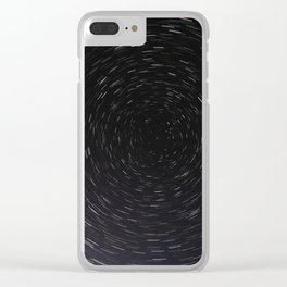 Stars Clear iPhone Case