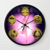marceline Wall Clocks featuring Marceline v2 by Pablo González Mora
