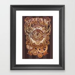 Steam Framed Art Print
