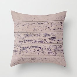 Old Wood Throw Pillow