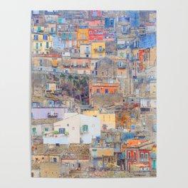 Mediterranean journey-Sicily Poster