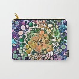 Spectral Circles Abstract Carry-All Pouch