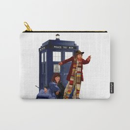 4th Doctor, Sarah Jane, K-9 and the TARDIS Carry-All Pouch
