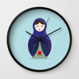 MATRYOSHKAS SERIES - OLESYA Wall Clock
