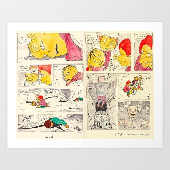 bartkira 2 Art Print