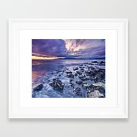 west coast Framed Art Prints featuring West Coast by Cyrus McEachern